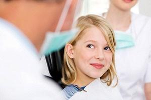 первое посещение врача стоматолога
